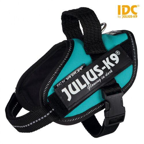 Julius-K9 IDC Powergeschirr petrol, Größe: Mini / M