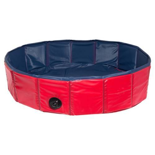 Karlie Doggy Pool blau/rot, Durchmesser: 160 cm