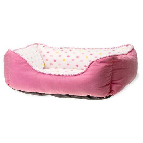 Karlie Hundebett Dot pink, Maße: 47 x 39 cm