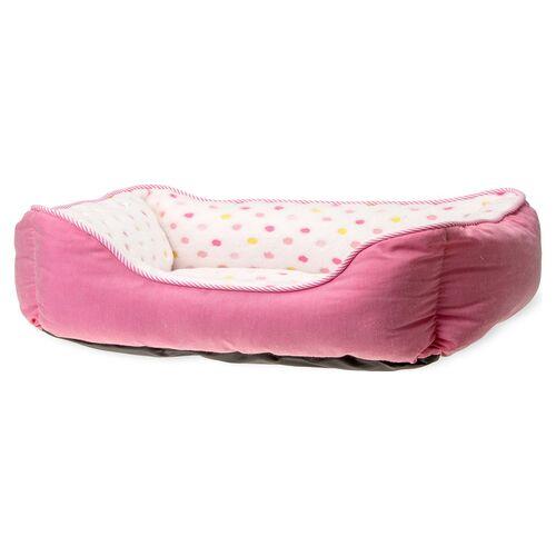 Karlie Hundebett Dot pink, Maße: 65 x 60 cm