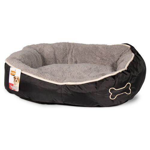 Karlie Hundekorb Chipz rund grau, Maße: 52 x 46 x 18 cm