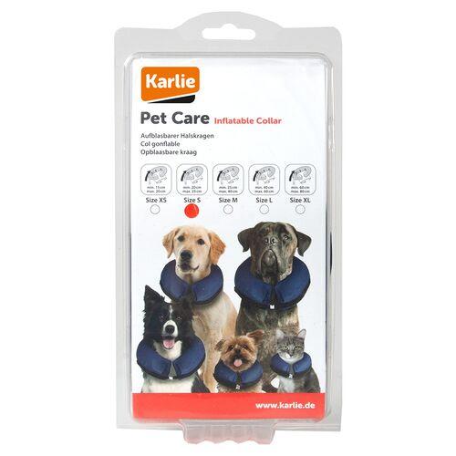 Karlie Hundeschutzkragen, aufblasbar, Größe: S