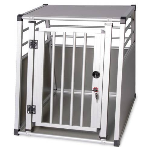 Karlie Hundetransportboxen Aluminium, Maße: L 82 x B 65 x H 66 cm