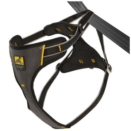 Kurgo Autogeschirr Impact Seatbelt Harness schwarz, Größe: S