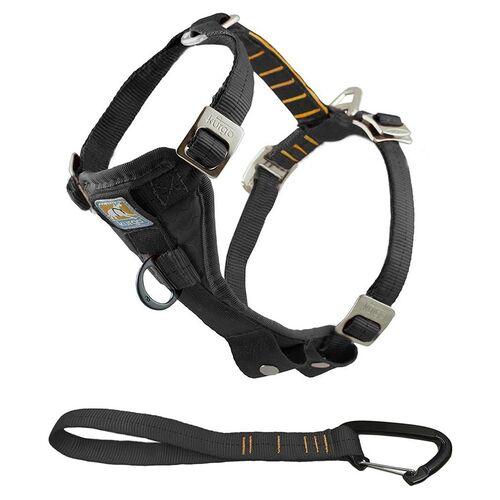 Kurgo Autogeschirr Tru-Fit-Smart Harness inkl. Gurtanschluss schwarz
