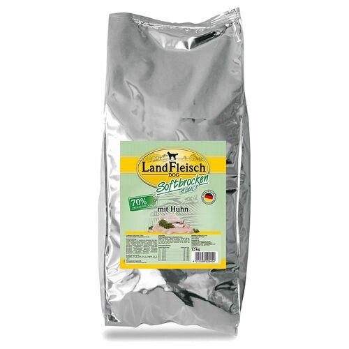 Landfleisch (7,19 EUR/kg) Landfleisch Softbrocken Adult mit Huhn 1,5 kg