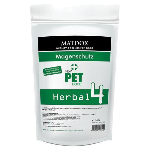 MATDOX (51,97 EUR/kg) MATDOX New PET care Herbal 4 Magenschutz 300 g