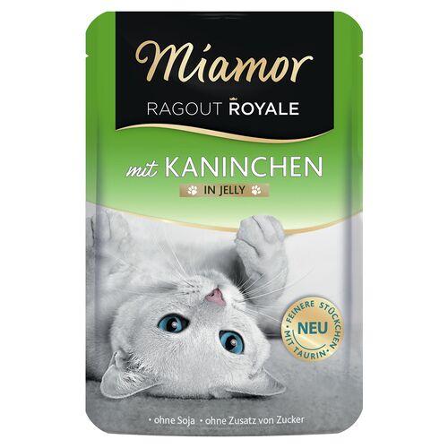 Miamor (4,90 EUR/kg) Miamor Ragout Royale mit Kaninchen in Jelly 100 g - 22 Stück