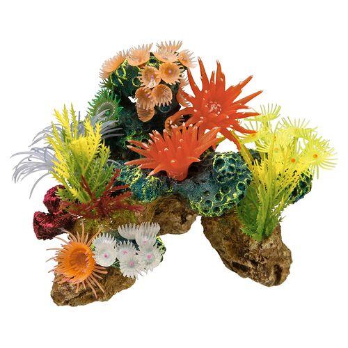 Nobby Aquariendekoration Korallen mit Pflanzen