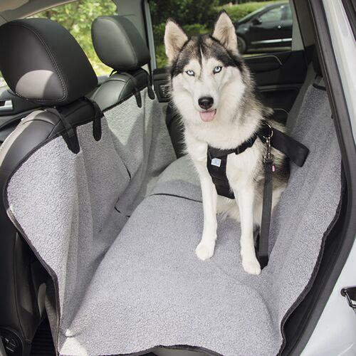Nobby Autositz Schutzdecke grau-schwarz