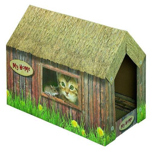 Nobby Katzenhaus aus Karton