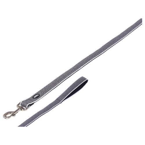 Nobby Leine Cayo grau, Maße: 120 cm / 15/20 mm