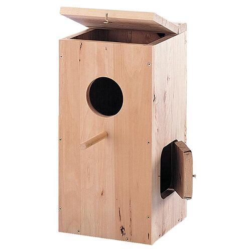 Nobby Papageiennistkasten, Maße: 36 x 36 x 76 cm
