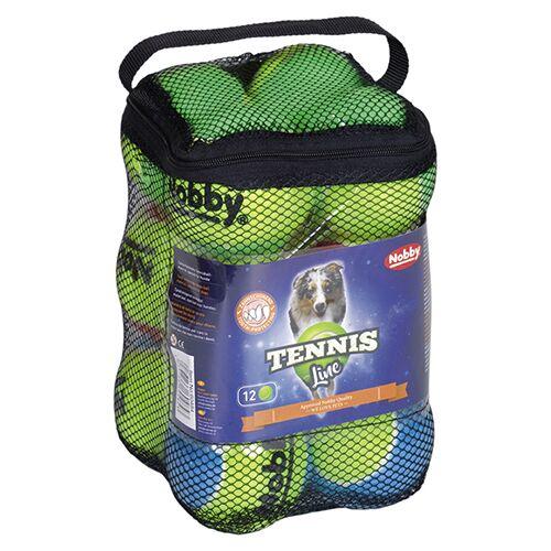 Nobby Tennisball 12er Netz