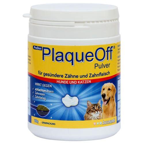 PlaqueOff (26,88 EUR/100g) PlaqueOff Animal für Hunde 180 g