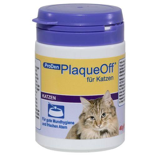 PlaqueOff (48,23 EUR/100g) PlaqueOff für Katzen 40 g