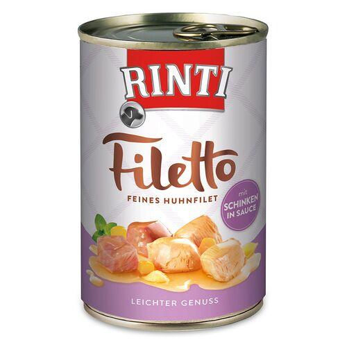 Rinti (5,69 EUR/kg) Rinti Filetto mit Huhn & Schinken in Sauce 420 g - 12 Stück