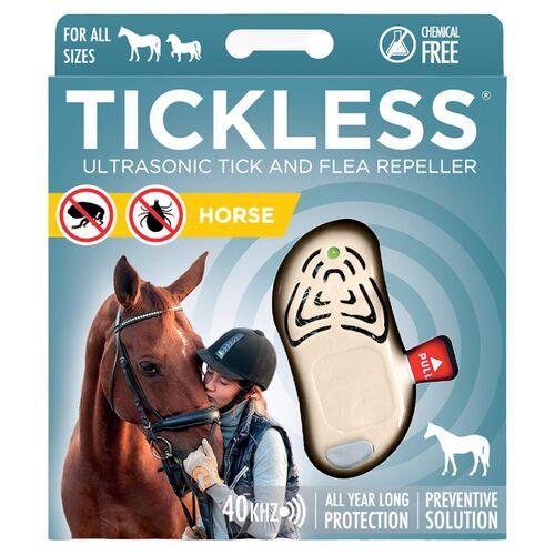 TickLess HORSE beige - Ultraschallgerät gegen Zecken für Pferde