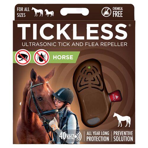 TickLess HORSE braun - Ultraschallgerät gegen Zecken für Pferde