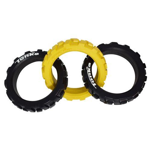 Tonka Hundespielzeug Flex 3-Ring Reifen