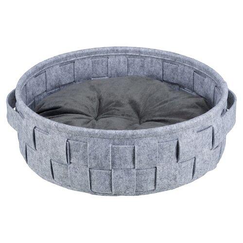 Trixie Bett Lennie grau für Katzen, Durchmesser: 45 cm