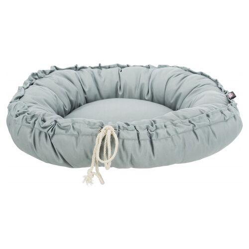 Trixie Bett & Kissen Felia grau für Katzen, Durchmesser: 50 cm