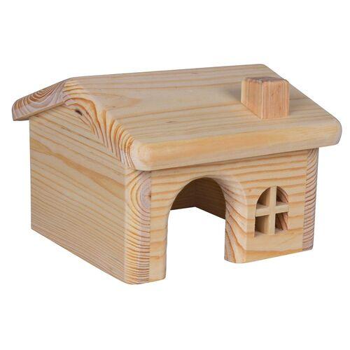 Trixie Holzhaus aus Kiefernholz, Maße: 28 x 17 x 27 cm