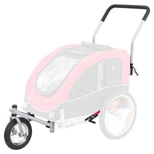 Trixie Jogger-Umbausatz für Fahrradanhänger, für Fahrrad-Anhänger Größe L