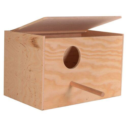 Trixie Nistkasten Holz, Standard, Maße: 30 x 20 x 20 cm / ø 6 cm