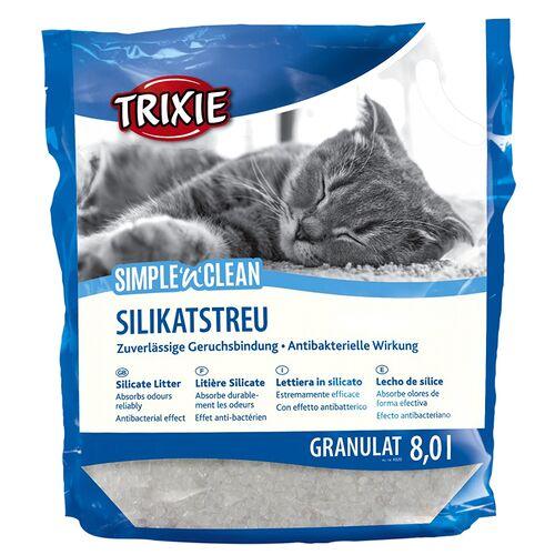 Trixie (1,42 EUR/l) Trixie SimplenClean Silikatstreu Granulat 8 l