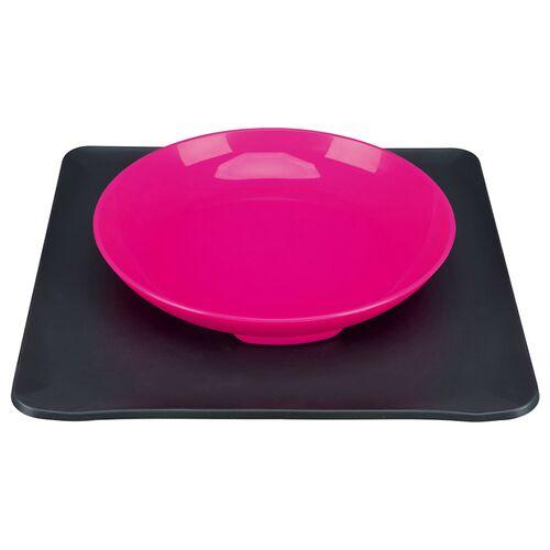 Trixie Yummynator, Napfsystem 400 ml pink/grau