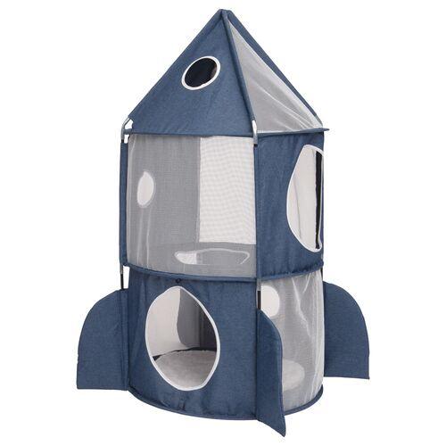 Vesper Rakete blau