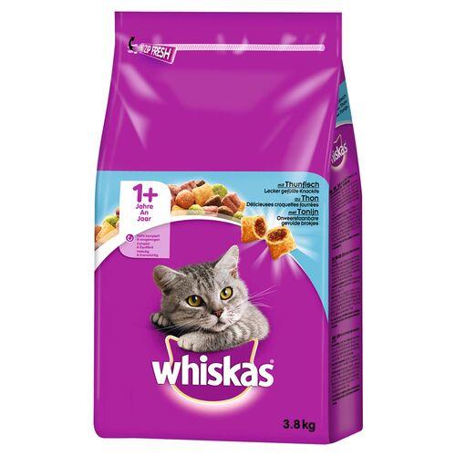 Whiskas (3,02 EUR/kg) Whiskas Adult 1+ mit Thunfisch 3,8 kg