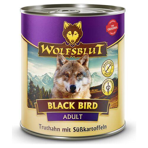 Wolfsblut (5,00 EUR/kg) Wolfsblut Black Bird Adult - Truthahn mit Süßkartoffeln 800 g - 6 Stück