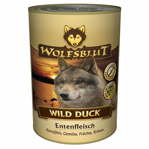 Wolfsblut (6,58 EUR/kg) Wolfsblut Wild Duck 395 g - 6 Stück