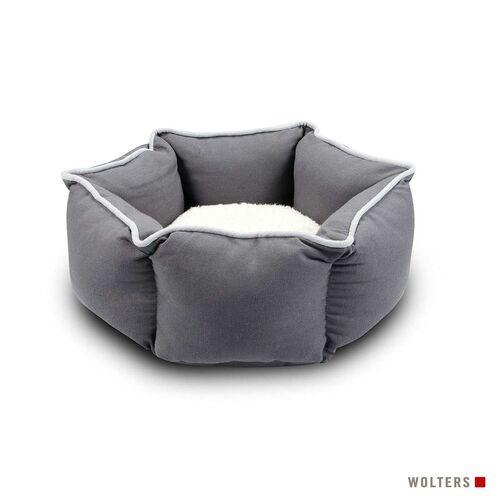 Wolters Eco-Well Katzen- & Hundebett grau/hellgrau, Größe: M