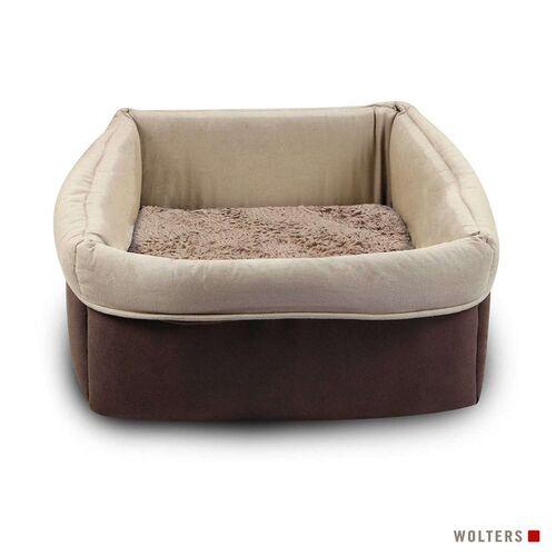 Wolters Eco-Well Katzen- & Hundekorb braun/beige, Größe: S
