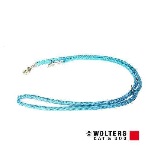 Wolters Führleine K2 neon aqua, Maße: 200 cm / 13 mm