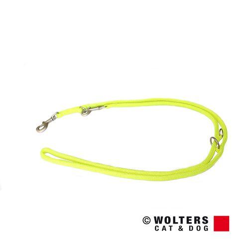 Wolters Führleine K2 neon gelb, Maße: 200 cm / 13 mm