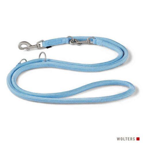 Wolters Führleine K2 sky blue, Maße: 200 cm / 13 mm