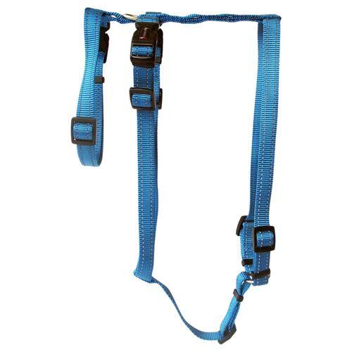 Wolters Geschirr Soft & Safe No Escape aqua Panikgeschirr, Größe: S