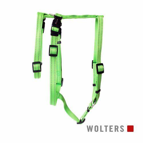 Wolters Geschirr Soft & Safe No Escape lime Panikgeschirr, Größe: S