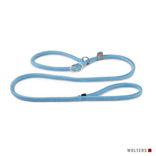 Wolters Moxonleine K2 sky blue, Maße: 180 cm / 9 mm