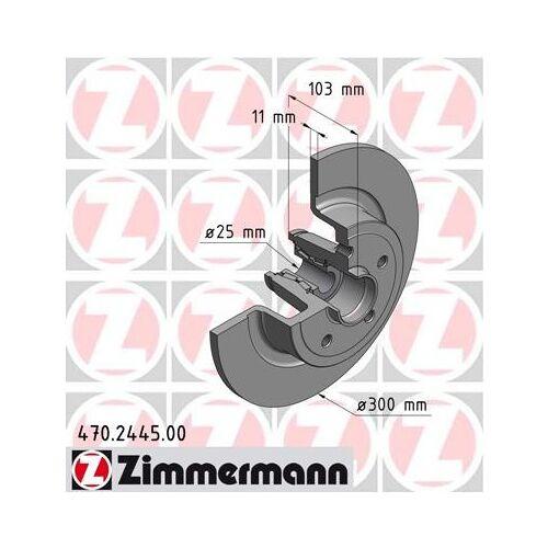 ZIMMERMANN - (OTTO ZIMMERMANN GMBH) ZIMMERMANN - Bremsscheibe