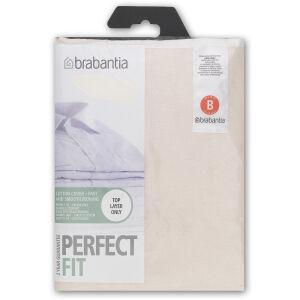 Brabantia International B.V. Brabantia B Bügeltischbezug, Stylischer Baumwollbezug mit dünner Schaumstoffschicht, Motiv: gemischt, farbig sortiert