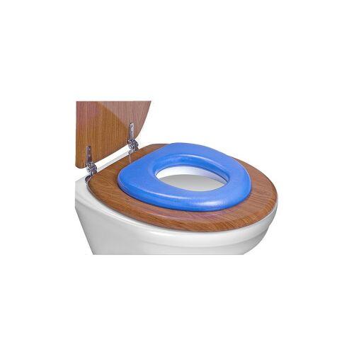 reer GmbH reer WC-Kindersitz, soft, Toilettensitz-Verkleinerer passt auf jede Toilette, Farbe: blau