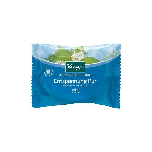 Kneipp GmbH Kneipp® Entspannung Pur Aroma-Sprudelbad, Entspannendes Sprudelbad mit langer Sprudelzeit, 80 g - Beutel