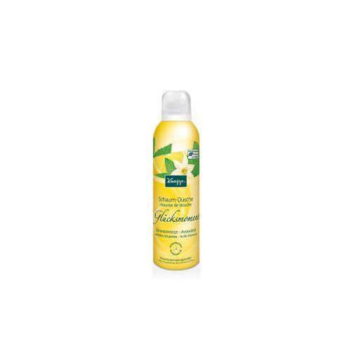 Kneipp GmbH Kneipp® Schaum-Dusche Glücksmoment - Zitronenminze & Avocadoöl, Ein erfrischender Moment der Glücks, 200 ml - Dose