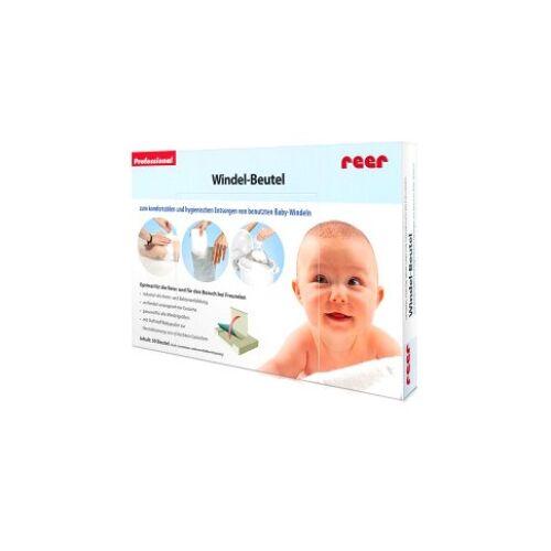 reer GmbH reer Windel-Beutel, Komfortable Entsorgung von benutzten Windeln, 1 Packung = 50 Stück