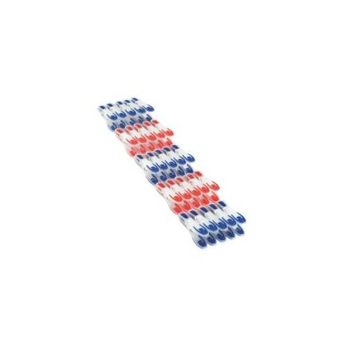 Leifheit AG LEIFHEIT Wäscheklammern, Wäschezange mit schonenden Klemmflächen, 1 Packung = 25 Stück
